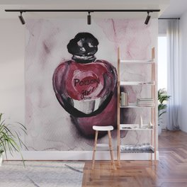 Poison Girl - Perfume - Fashion Illustration Wall Mural