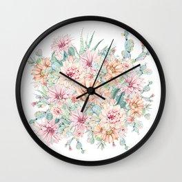 Cacti Jungle Wall Clock