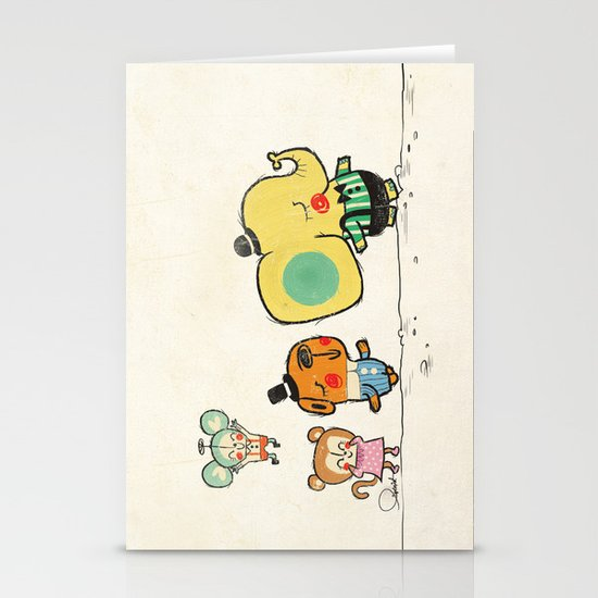 Walking with you Stationery Cards