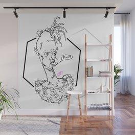 Please Remember Hammock Fondly Wall Mural