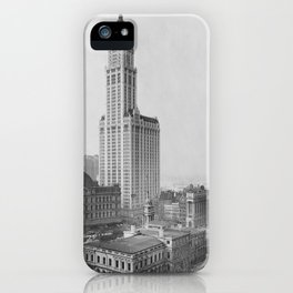 New York City Skyline Vintage iPhone Case
