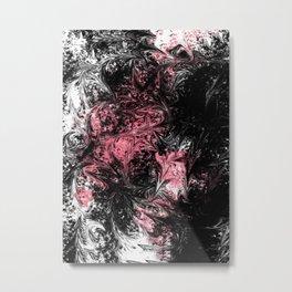 Abstract X 0.1 Metal Print