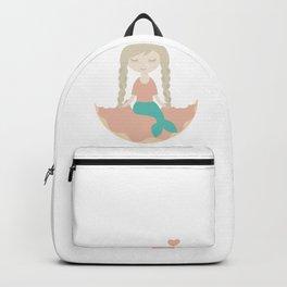 Even the Mermaid loves Donut Backpack
