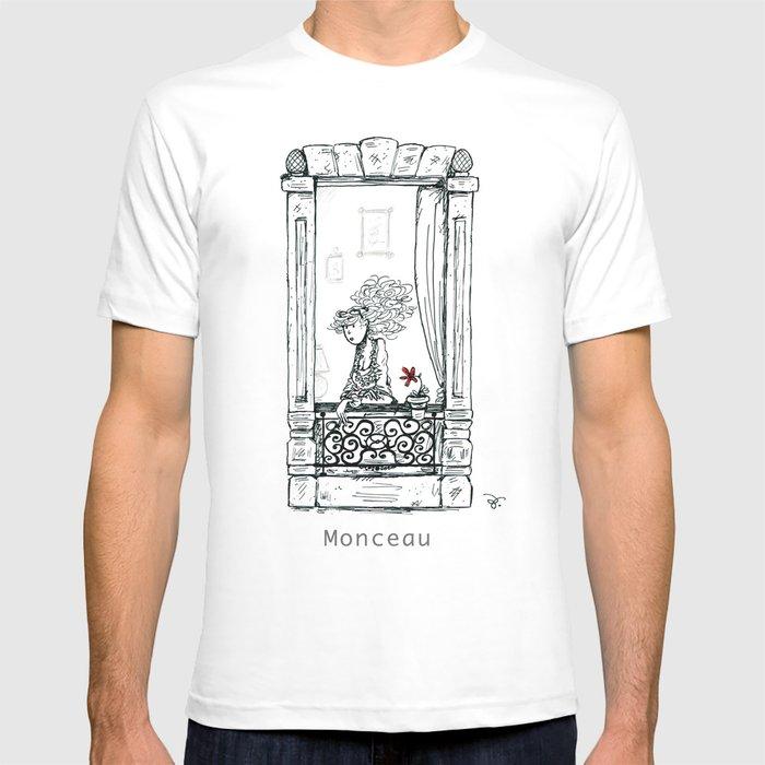 A Few Parisians: Monceau by David Cessac T-shirt
