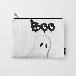 Halloween ghost theme tshirt  Carry-All Pouch