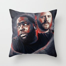 Run the Jewels Throw Pillow
