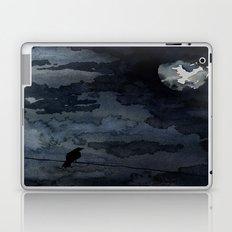 Moonlit Raven Laptop & iPad Skin