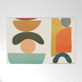Modern Abstract Art 72 Welcome Mat