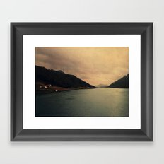 mountains IX Framed Art Print