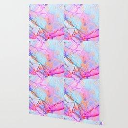 Graffiti Candy Marble Pattern Wallpaper