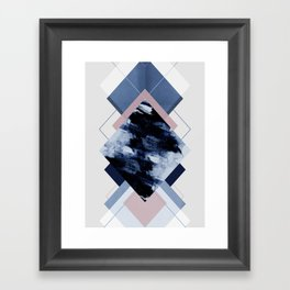 Geometric Textures 11 Framed Art Print