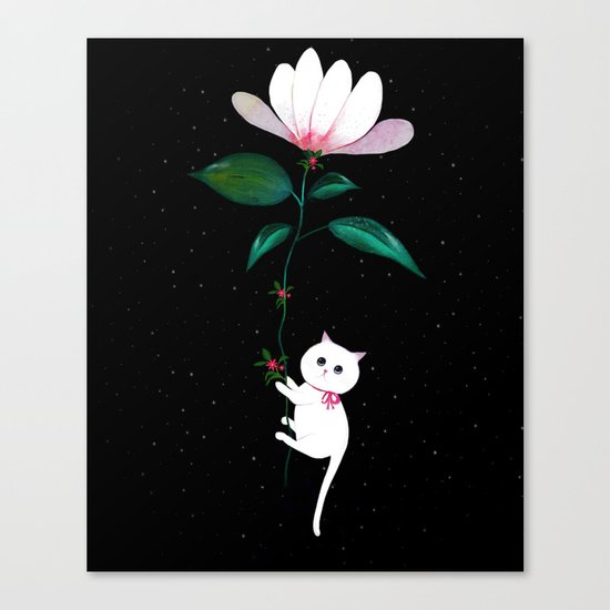 Myrtle in Space Canvas Print