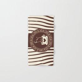 Coffee & Cats & Coffee Hand & Bath Towel