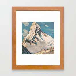 Night Mountains No. 45 Framed Art Print