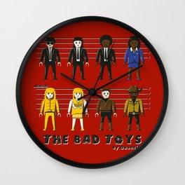 The bad toys Wall Clock