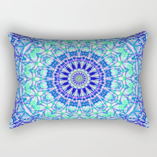 Tribal Mandala G389 Rectangular Pillow