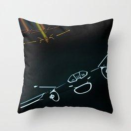 TRON LIGHT JET Throw Pillow