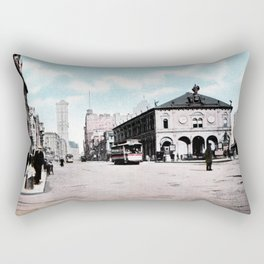 ca 1900 Herald Square New York City Rectangular Pillow