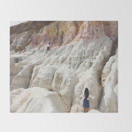 Rocks II Throw Blanket
