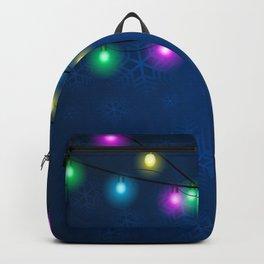 Christmas lights Backpack