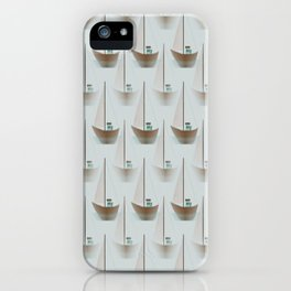 Sailboats iPhone Case