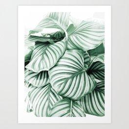 Long embrace Art Print