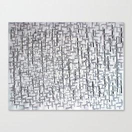 wetpattern002 Canvas Print