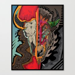 Western Apparition Canvas Print