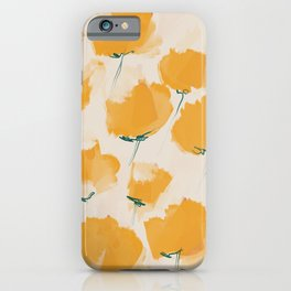 The Yellow Flowers iPhone Case