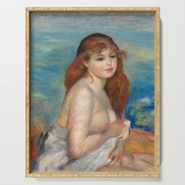 Renoir - After the bath, 1885 Serving Tray