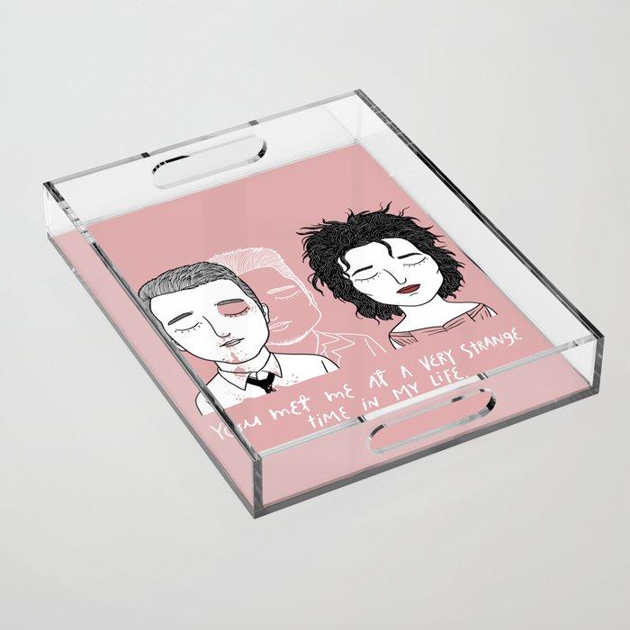 T & M Acrylic Tray