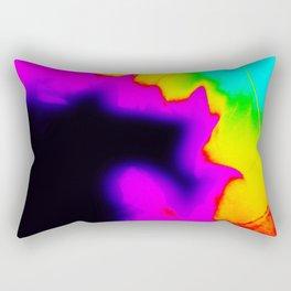 Rainbow Fire Rectangular Pillow