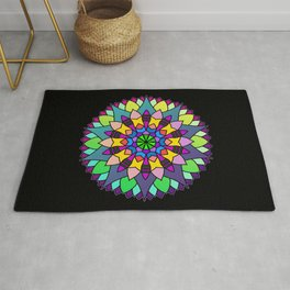 The Art of Living Mandala Rug