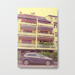 Opel Astra - The Undertaker Metal Print