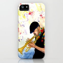 The Colors of Jazz iPhone Case