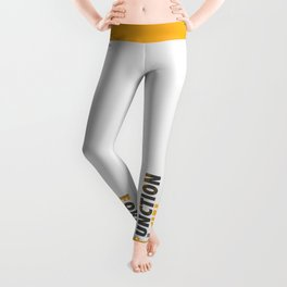 Forming the Quote Leggings
