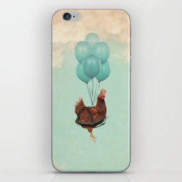 Chickens Can't Fly iPhone Skin