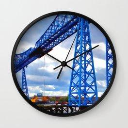 Tees Transporter Bridge Wall Clock
