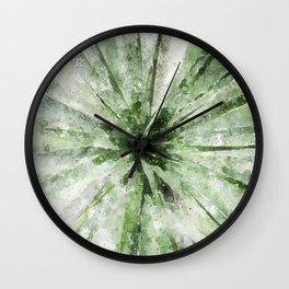Cactus Rays Wall Clock