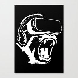 VR Gorilla Canvas Print