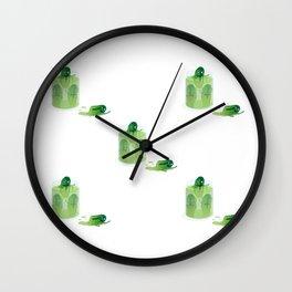 Cucumbers Wall Clock
