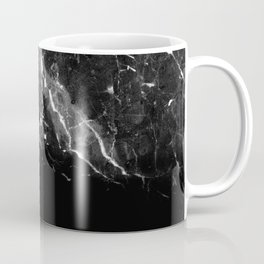Black Gray Marble #1 #decor #art #society6 Coffee Mug