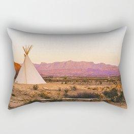 Tipi / Texas Rectangular Pillow