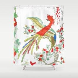 Coq japonais Shower Curtain