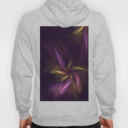 Fantasy Purple Flower Hoody