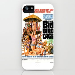 The Big Bird Cage iPhone Case