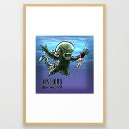 Nirvana : nevermind Framed Art Print
