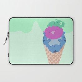 Cat Ice Cream  Laptop Sleeve
