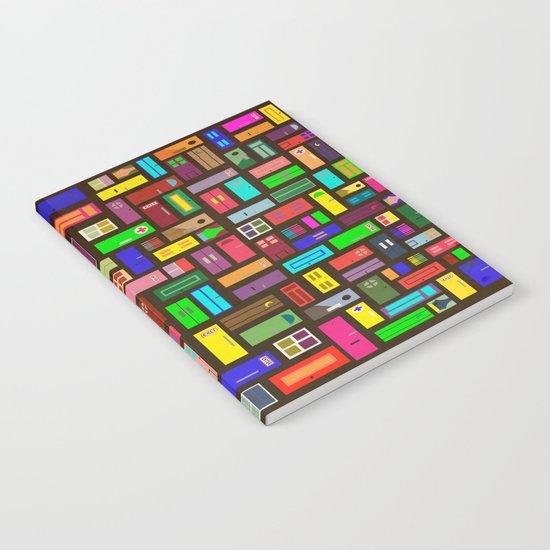 Doors - Black Notebook