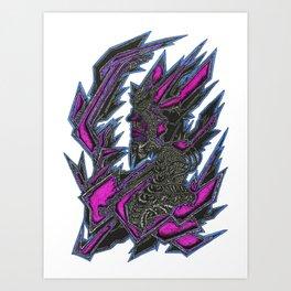 Jagger Plex Art Print